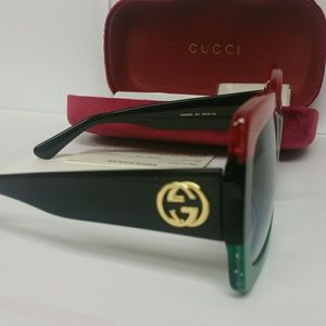 Large Authentic Gucci GG0083S women Sunglass